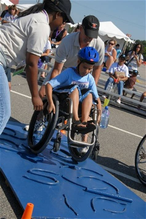 kids play  national veterans wheelchair games