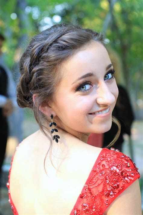 Homecoming Updo Hairstyles rope twist updo homecoming hairstyles