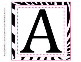 Large Size Alphabet Letter Printable