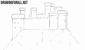 How to Draw a Castle | DrawingForAll.net