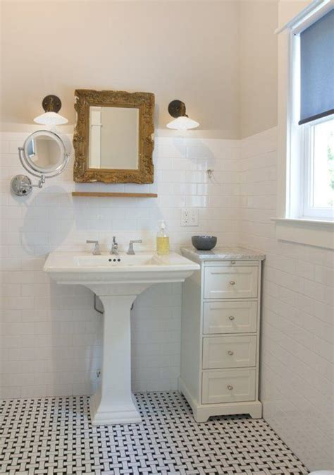 25+ Best Ideas About Pedestal Sink Storage On Pinterest