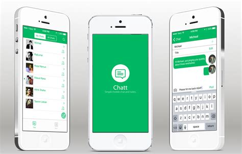ios app templates chatt ios template with layer backend