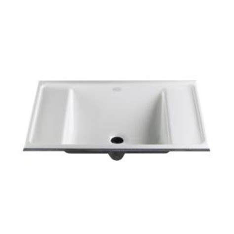 deals kohler ledges undermount bathroom sink in white k