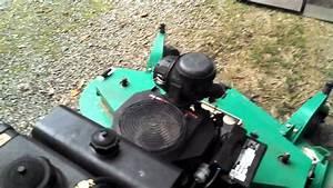 My New Lesco Hydro Walk Behind Mower