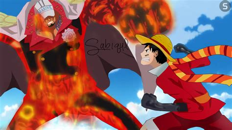 Luffy Vs Akainu By Kikisabiqul On Deviantart
