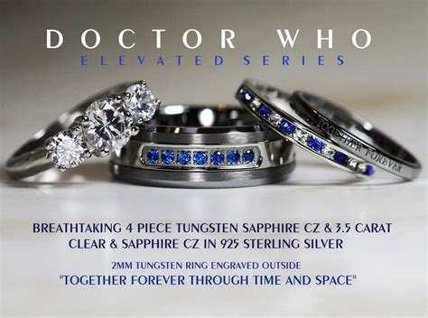 artiiee s uploaded images jewelry wedding ring for him doctor who wedding wedding rings