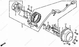 Honda Motorcycle 1982 Oem Parts Diagram For Alternator