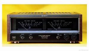Sony Ta-n77es - Manual - Stereo Power Amplifier