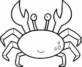 Lobster Cute Drawing Coloring Pages Printable Sea Clipartmag sketch template
