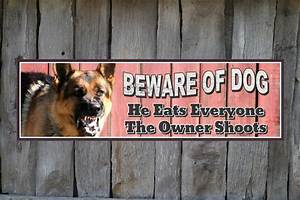 Beware Of Dog Signs German Shepherd