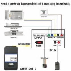 Sysd Ennio Touch Key Wifi Doorbell Wireless Video Door