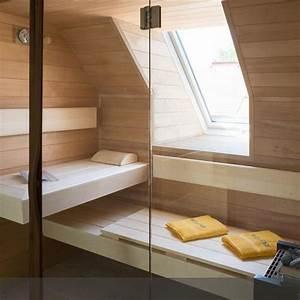Sauna Unter Dachschräge : ma angefertigte sauna dachschr ge saunas und fenster ~ Sanjose-hotels-ca.com Haus und Dekorationen