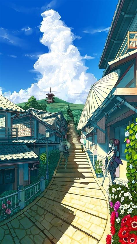 cities image by anime anime scenery wallpaper