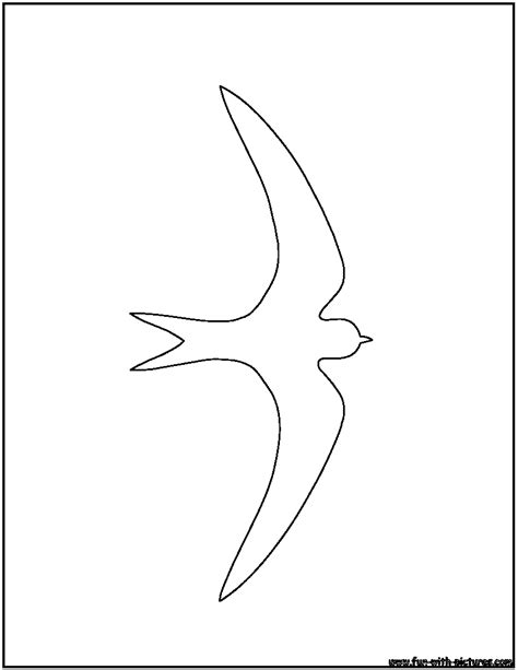 Coloring Outlines bird outlines coloring pages free printable colouring