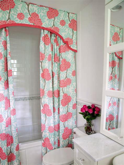 shower curtain flowers photos hgtv