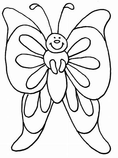 Coloring Butterfly Painted Lady Smile Fat Skinny