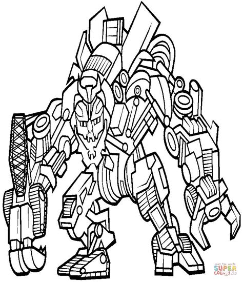 Coloring Transformer by Transformer Coloring Pages Bestofcoloring