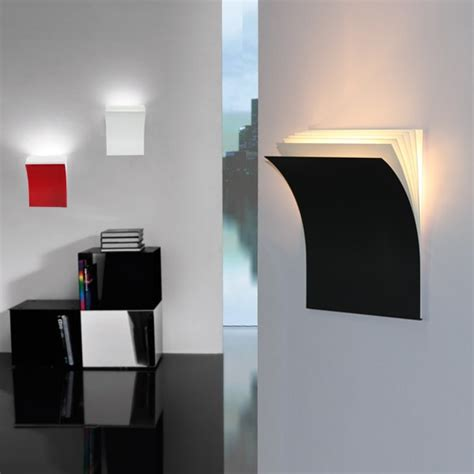 simple style creative books wall sconce modern led wall light fixtures for bedroom bedside wall