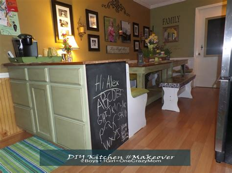 Kitchen Counter Add On by Simple Kitchen Diy Adding More Counter Space And Room 2
