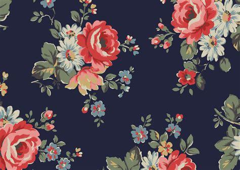 rainbow roses cath kidston desktop wallpaper wallpapersafari