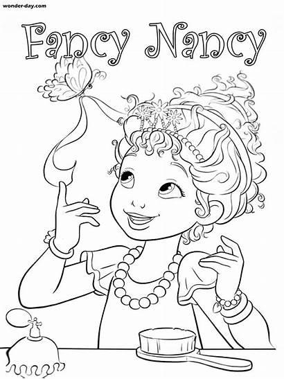 Nancy Fancy Colorear Dibujos Wonder