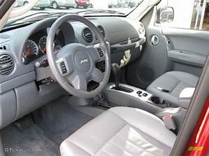 Medium Slate Gray Interior 2006 Jeep Liberty Limited 4x4