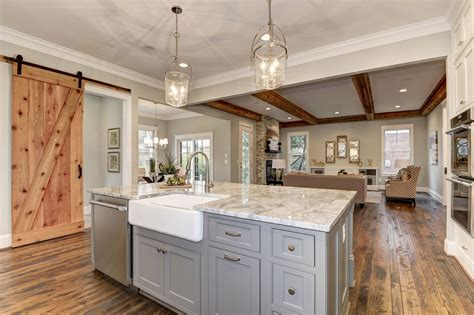 kitchen island trends on the island maple shiloh cabinets in dovetail gray 2027