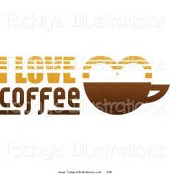 I Love Coffee Clip Art
