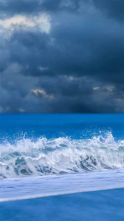 Iphone Plus Wallpapers Waves Beach Dynamic Wallpapersafari