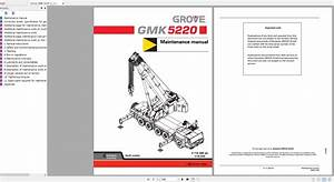 Grove Mobile Crane Gmk 5220 Operating  U0026 Maintenance Manual