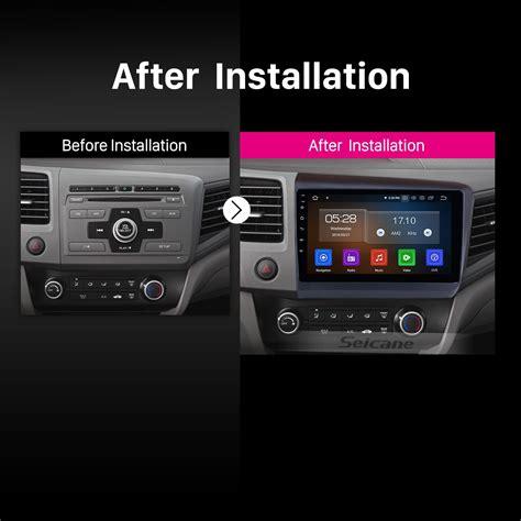buy car manuals 1997 honda civic navigation system android 9 0 10 1 inch 2012 honda civic lhd radio gps navigation car stereo with bluetooth