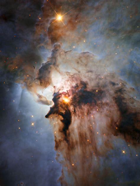 hubble view   lagoon nebula esahubble