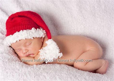 newborn baby christmas santa elf hat girl boy unisex
