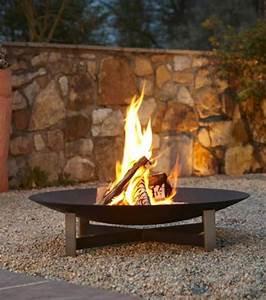 Feuerschale Für Garten : ein knisterndes feuer im freien bild 6 sch ner wohnen ~ Markanthonyermac.com Haus und Dekorationen