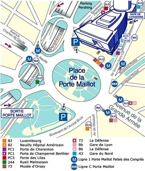 porte maillot map ireland map