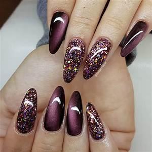 25 stunning burgundy nail designs to make your summer