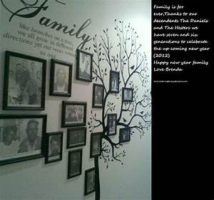 family tree wall decal picture wall ideas pinterest With family tree decals for walls ideas