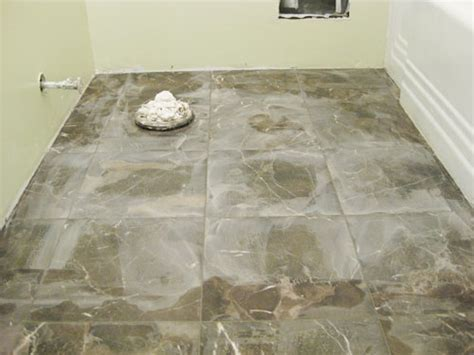 How To Grout White Subway Tile & Marble Floor Tile   Young