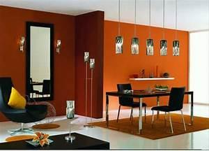 decoration salle a manger orange With salle a manger orange