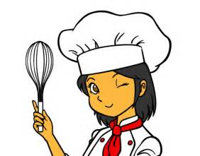 Female Chef Coloring Pages