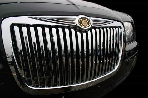 Chrysler 300 Grill by Chrysler 300 Chrome Vertical Grille