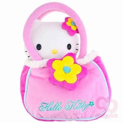 Kitty Hello Plush Pink Bag Soft Plushies