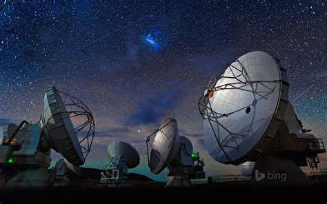 chile atacama desert radio telescope sky star hd wallpaper