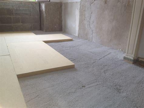 isoler sol garage pour faire chambre l 39 isolation phonique du plancher ou du sol
