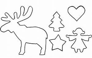 Elch Basteln Vorlage : schablonen skandinavische weihnachten ausmalbilder von ~ Lizthompson.info Haus und Dekorationen
