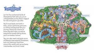 Disneyland Paris Park Map