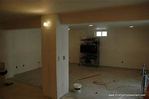 installing drywall for your finished basement contractor With can i put a bathroom in my basement