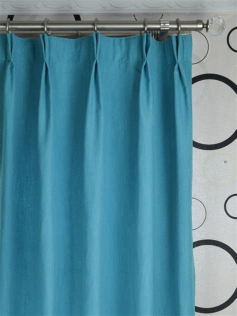 solid blackout pinch pleat curtains 108