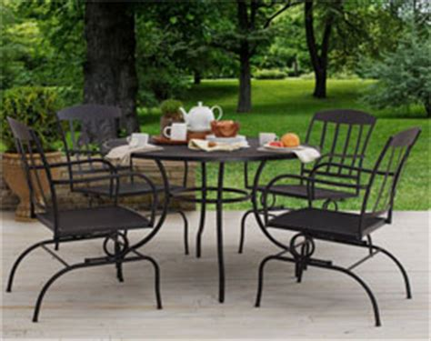 Strathwood Patio Furniture Manufacturer by Strathwood Basics Steel Mesh Dining Table Tables Patio