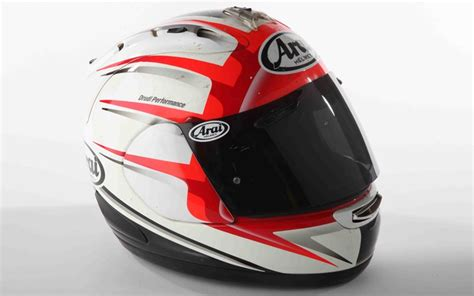 helmet review arai rx7 gp